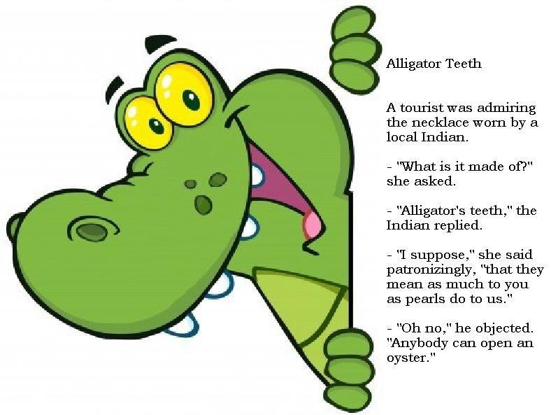 Alligator Teeth... (With images) | Cartoon clip art ...