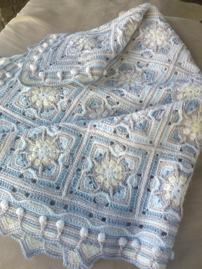 Ravelry: Baby Blanket in Overlay Crochet by CAROcreated design ...