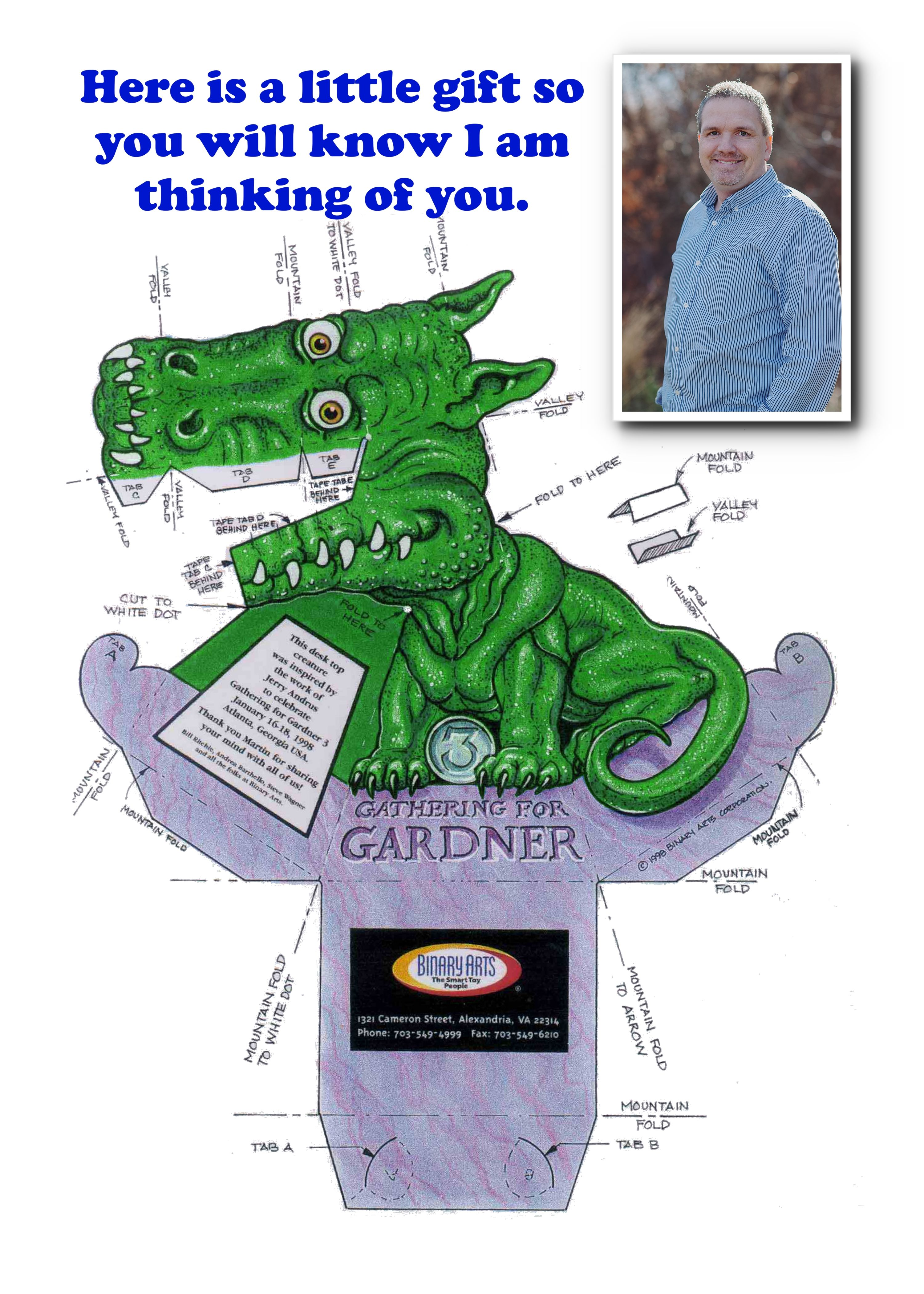 print and cut this dragon out for a fun 3 dimensional dragon thats head follows you - Cool Stuff To Print Out