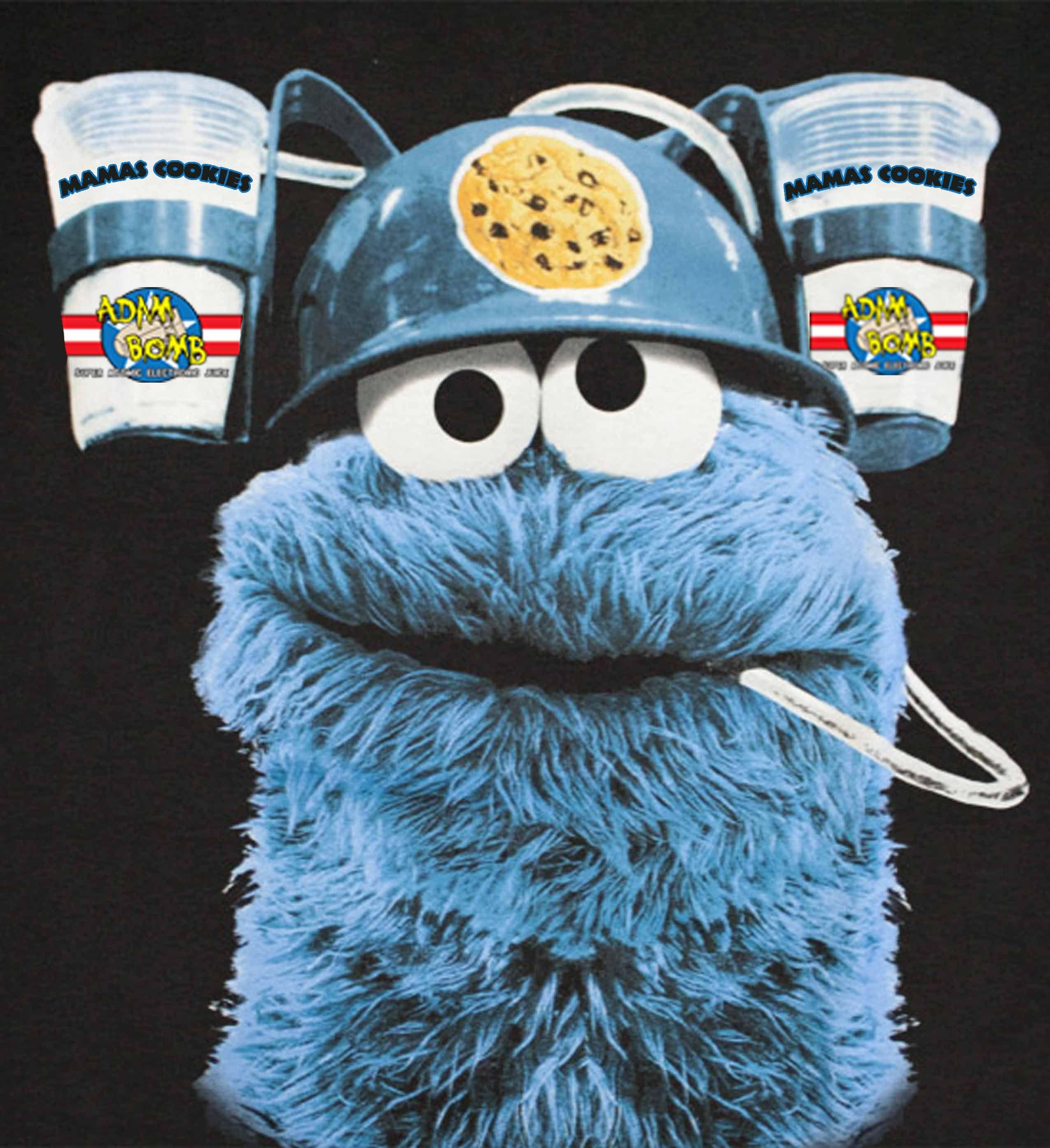 Cookie Monster x Adam Bomb (Mamas Cookies) | Vape Guys Designz ...