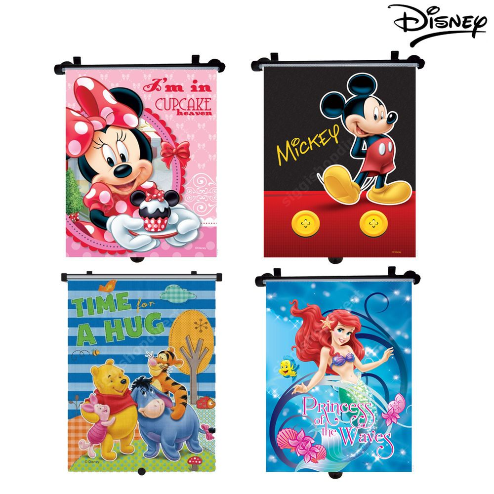 Details About Disney Roller Blind Sunshade Baby Boy Girl