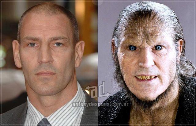 Dave Legeno As Werewolf In Harry Potter Schauspieler Rollen