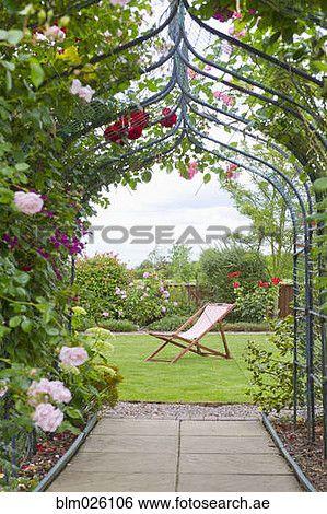 أداة تعريف إنجليزية غير معروفة جنة ب أداة تعريف إنجليزية غير معروفة شىء على شكل وردة رئيسي أيضا سطح كرسي معرض الفوتوغراف Blm026106 Garden Garden Arch Arch