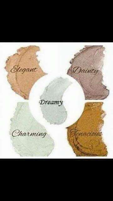 Splurge make up colours. Can be mixed together or look amazing on their own.