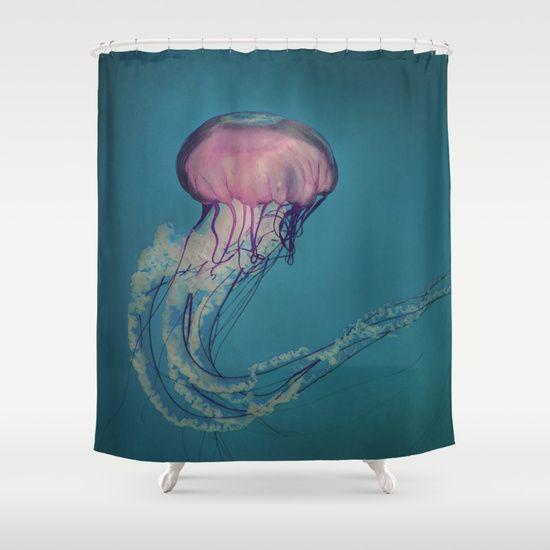 Jellyfish Shower Curtain Curtains Bathroom Bathroom Colors