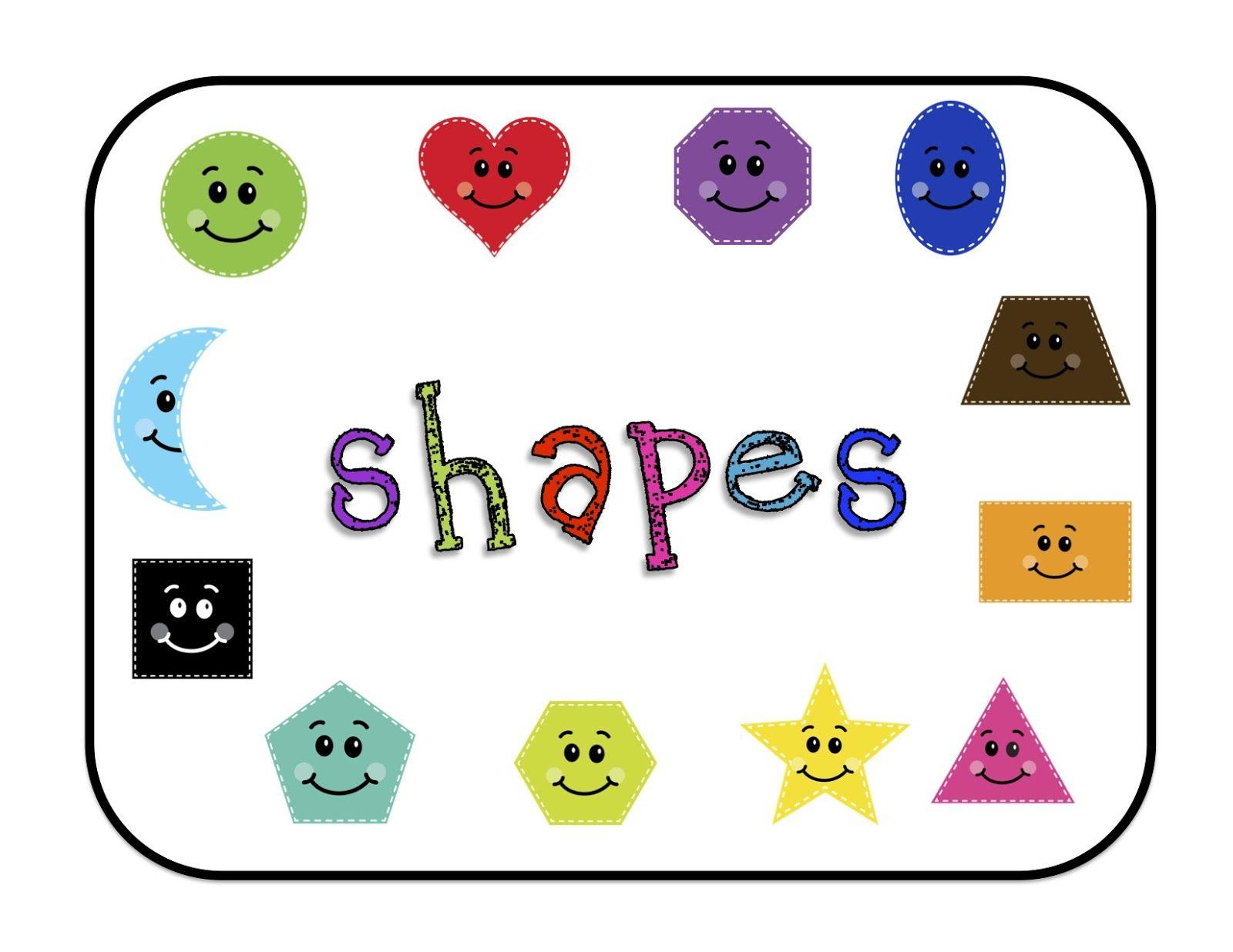 Shapes for Bulletin Boards Printable Preschool