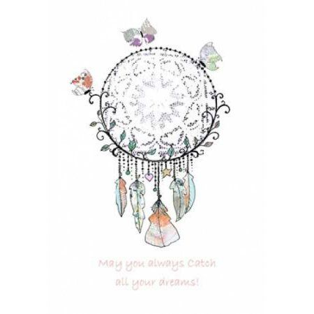 Walmart Dream Catcher Gorgeous Dream Catcher With Butterflies Canvas Art  Sarah Ogren 20 X 28 Design Inspiration