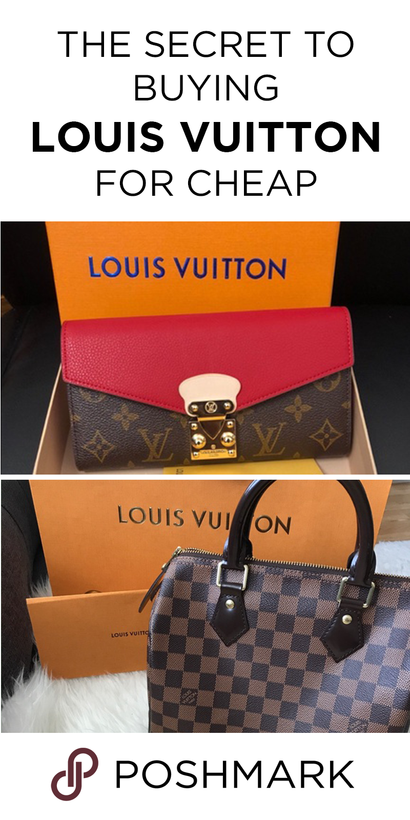 ab2b681f255e Buy pre-owned Louis Vuitton handbags for cheap on Poshmark. Download the  app today to shop more designer luxury brands.