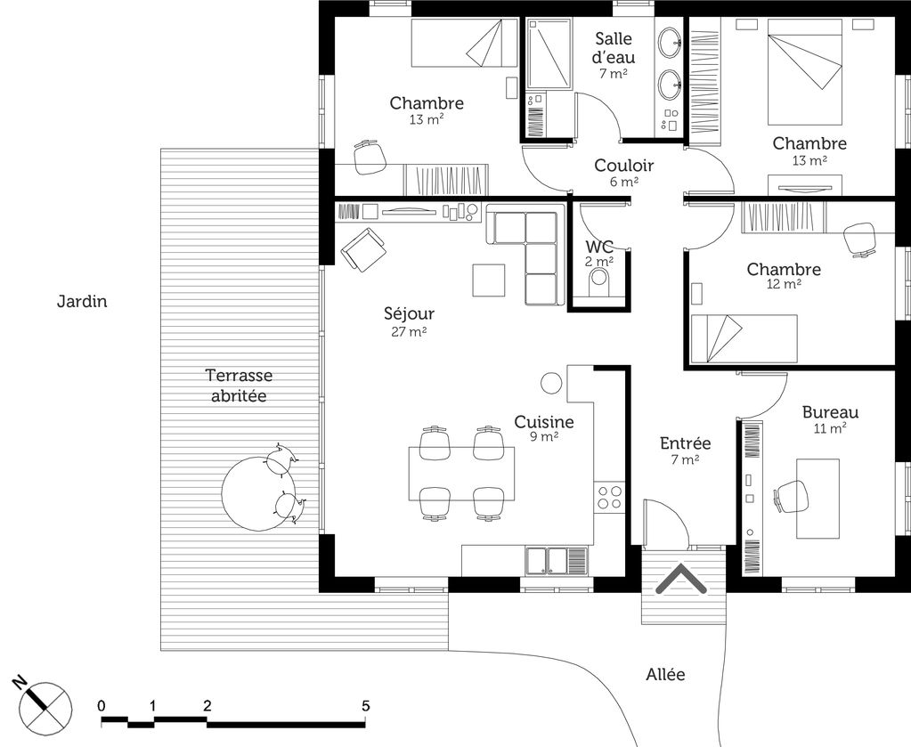 10 Modele Plan De Maison Gratuit En 2021
