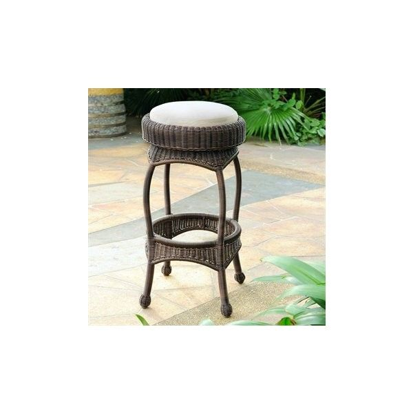 South Sea Rattan Bar Wicker Cushion Stool ($204) ❤ liked on Polyvore featuring home, outdoors, patio furniture, outdoor stools, wicker patio furniture, south sea rattan, outdoor patio furniture, outdoor wicker furniture and outdoor wicker patio furniture