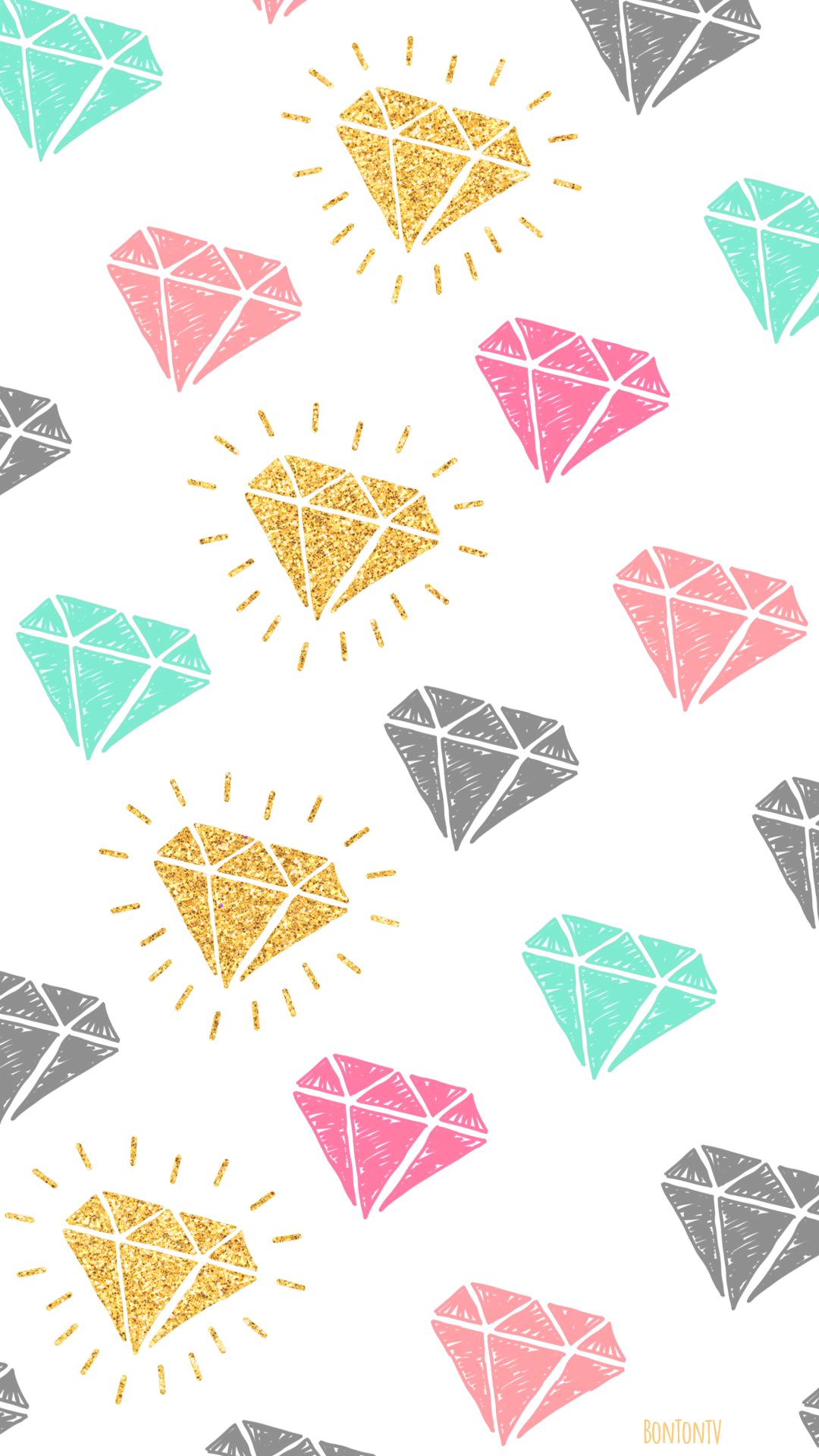 Hd Phone Wallpapers Diamonds By Bonton Tv Free Backgrounds 1080x1920 Wallpapers Iphone S Diamond Wallpaper Iphone Cellphone Wallpaper Diamond Wallpaper