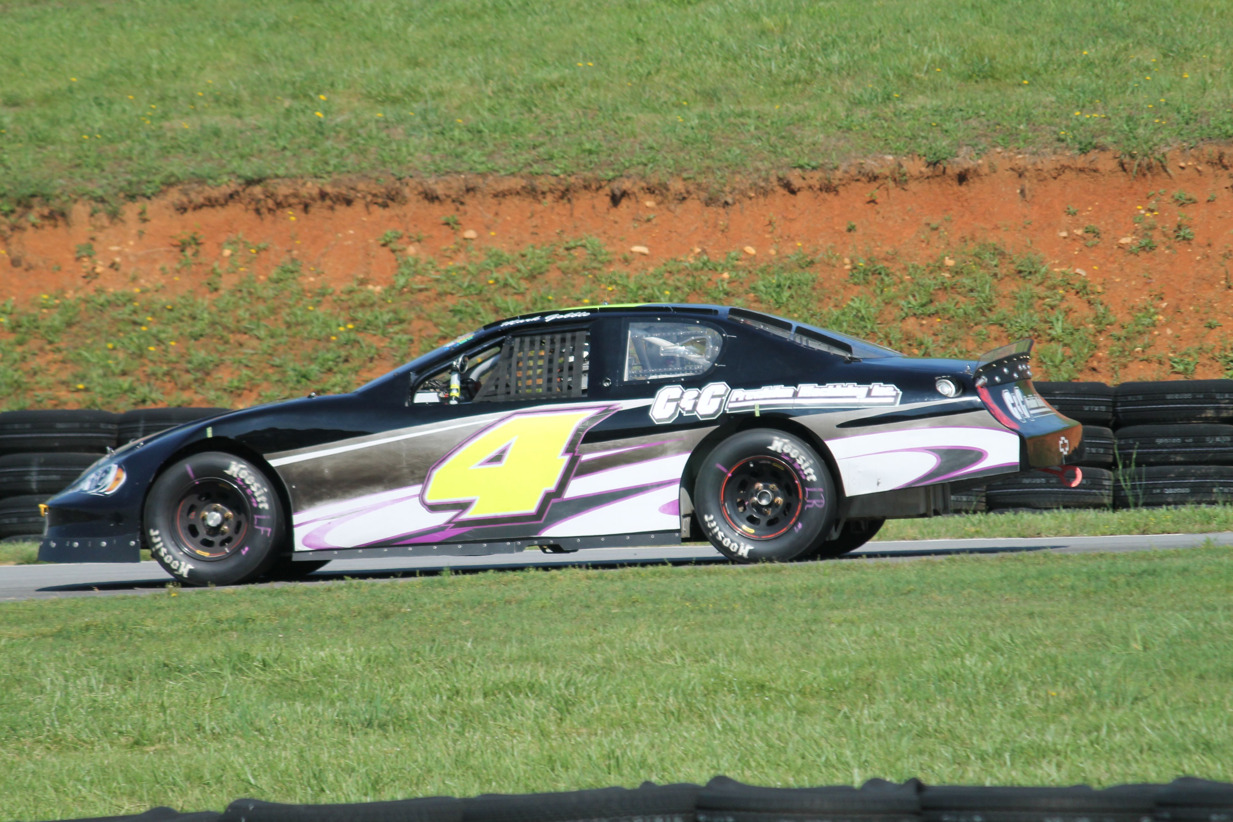 4 2003 Chevy Monte Carlo of Mark Gobble at VIR May 2016 photo by