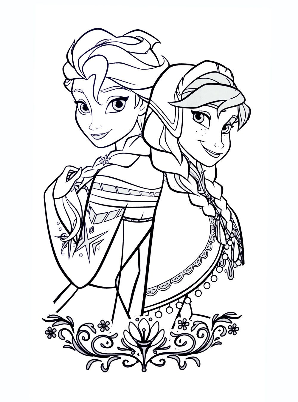 Coloriage Monstre Reine Des Neiges.Coloriages La Reine Des Neiges A Imprimer Color Frozen