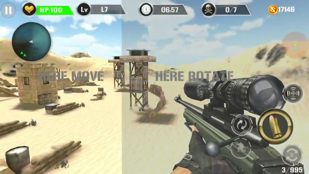 Mountain Sniper Shooting [Android Sniper Game ] Android