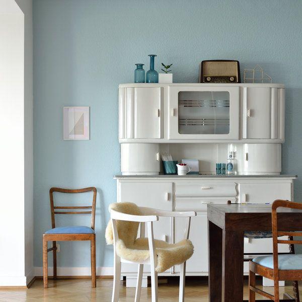 Wohlfühlen im Vintage Flair Inspirationen für schöne Vintage-Zimmer - wandfarben fr esszimmer