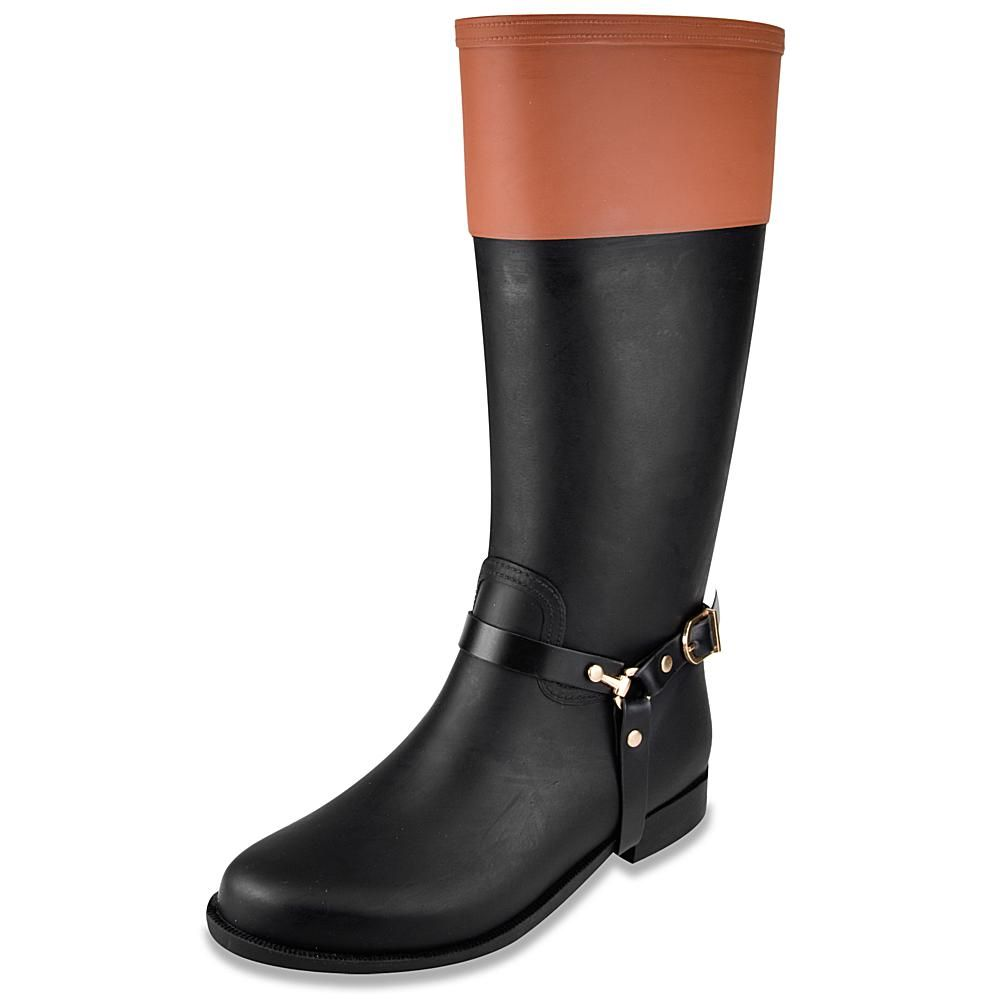 London Fog® RIDER Pull-On Tall Rain Boot - Black