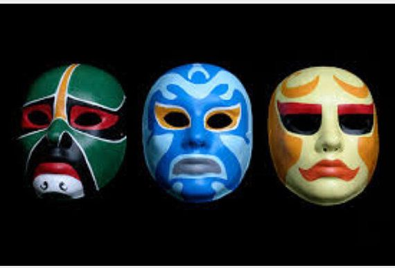 3 Ninjas masks, I don't know why I've always loved these concepts.