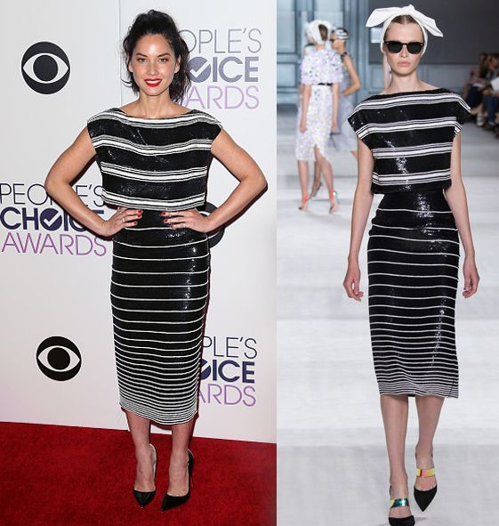 Best red carpet looks at the 2015 People's Choice Awards #peopleschoiceawards - LaiaMagazine