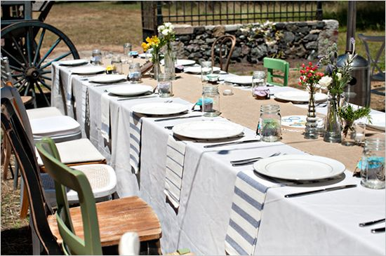 Intimate And Eclectic Northern California Wedding & Intimate And Eclectic Northern California Wedding | Table settings ...