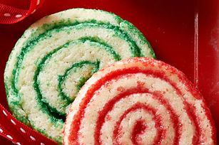 Pinwheel Sugar Cookies Recipe Not Over Sweet And Pretty Without