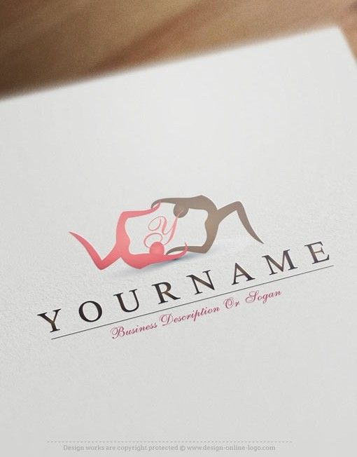 Exclusive Logo Design Yoga Logo Images Free Business Card Free Business Cards Yoga Logo Design Graphic Design Fun