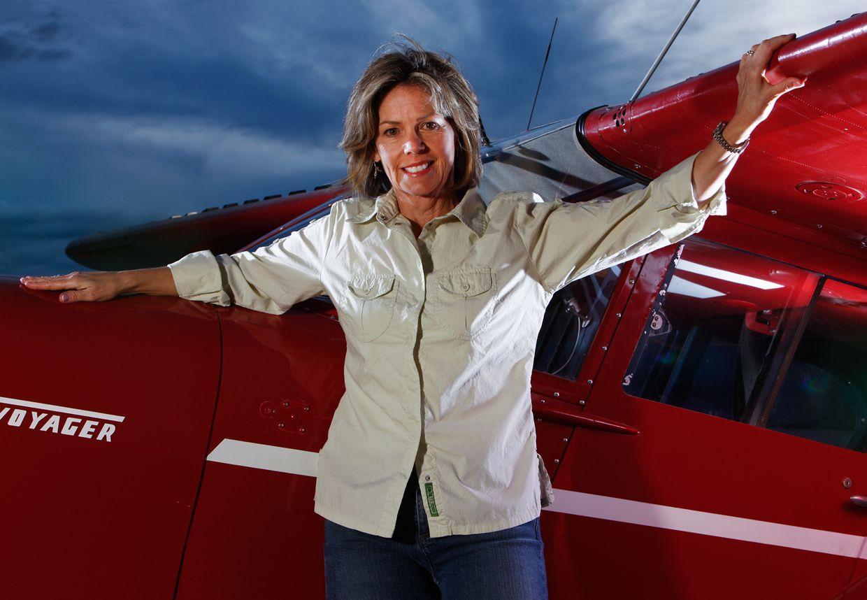 Kitty Banner Seemann Kitty's love of aviation started