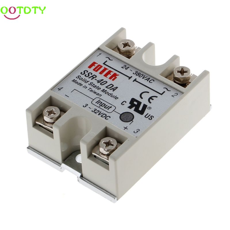24v 380v 40a 250v Ssr 40 Da Solid State Relay Module 3 32v Dc To Ac New 828 Promotion Electricity Electrical Equipment Store 3