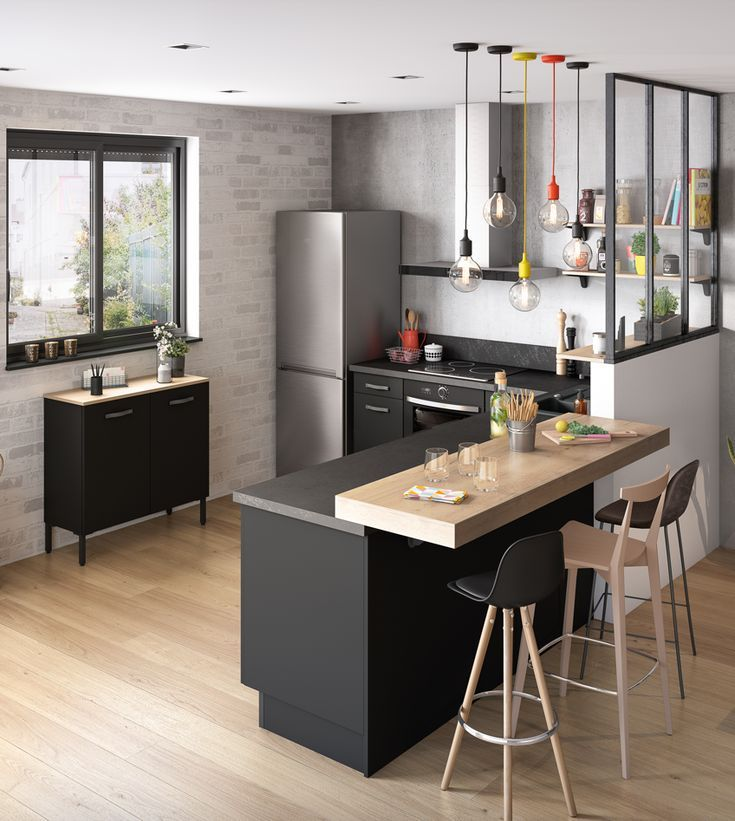 Petite Cuisine Equipée: Home Decor Kitchen, Kitchen Design, Kitchen Interior
