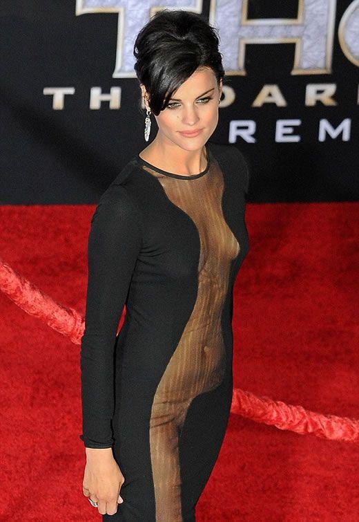 Red Carpet Sheer Dress
