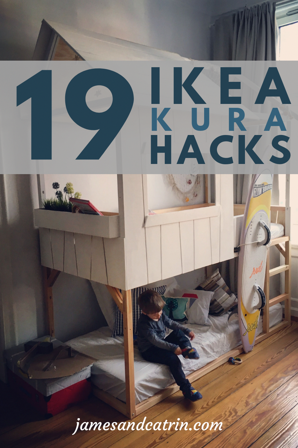 The versatile Ikea Kura bed can be hacked into so many