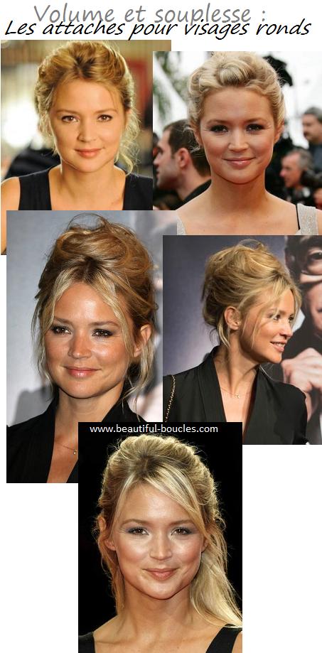 Coupes longueur et coiffure qui vont le mieux au visage rond caract ristiques du visage rond - Coiffure visage rond ...