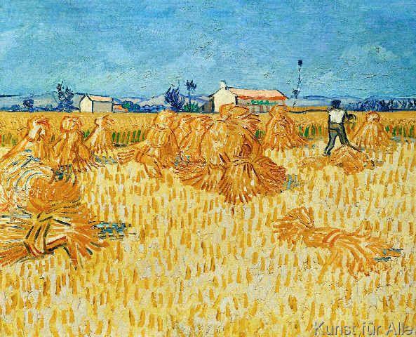 Vincent van Gogh - Ernte in der Provence Schöne Mal-/Zeichenkunst