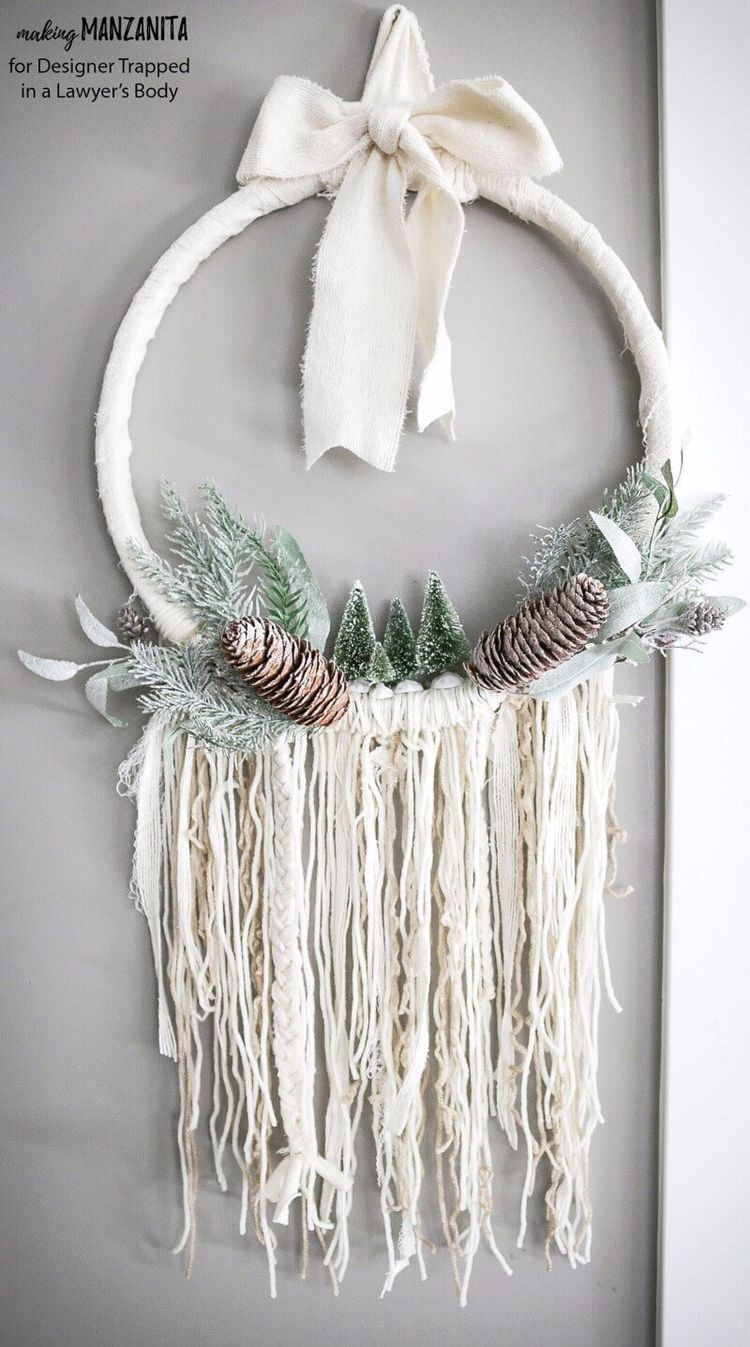 29 DIY Christmas and Winter Decor Projects #winterdecor