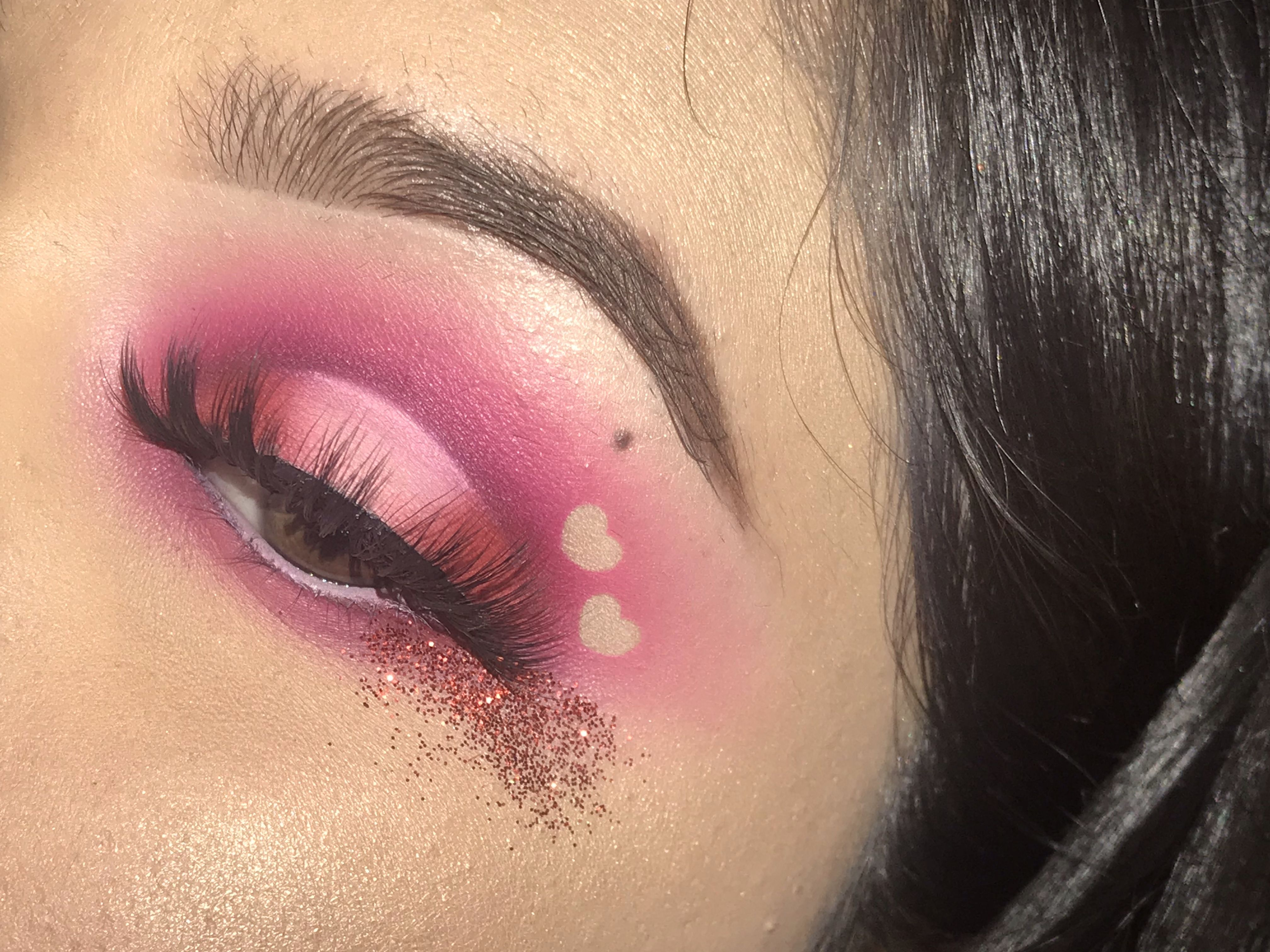 Pink Heart Valentine S Day Look Pink Hearts Valentinesday