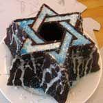 Marcy Goldman's Star of David Fudge Cake
