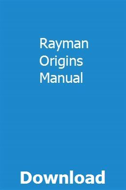 Rayman Origins Manual | lindcontcowlitt | Repair manuals, Manual