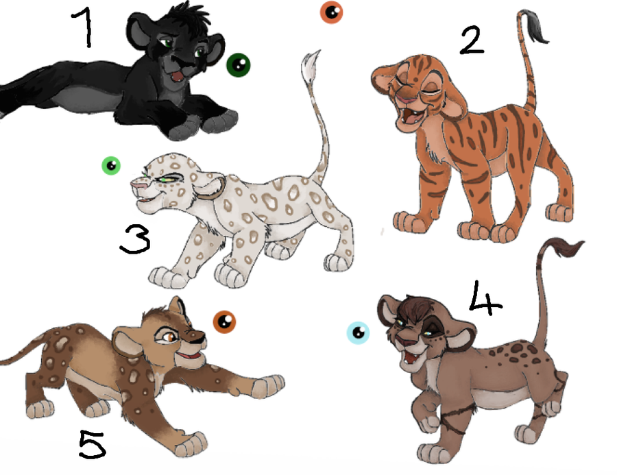 Get Anime Lions Drawings PNG