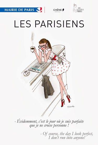 Le style à la parisienne - Ah, ces Parisiennes qui ne peuvent pas sortir sans être tirées à quatre épingles..