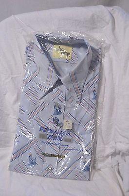 New Old Store Stock 70s Shirt Big Collar