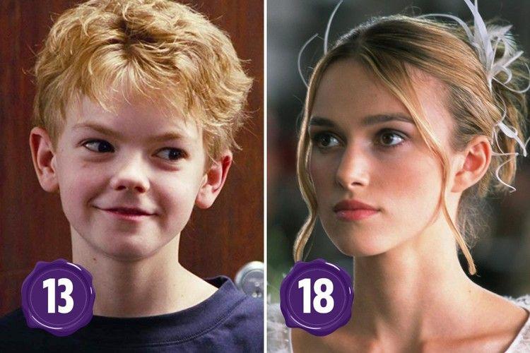 The age gap between Love Actually's Thomas & Keira ...