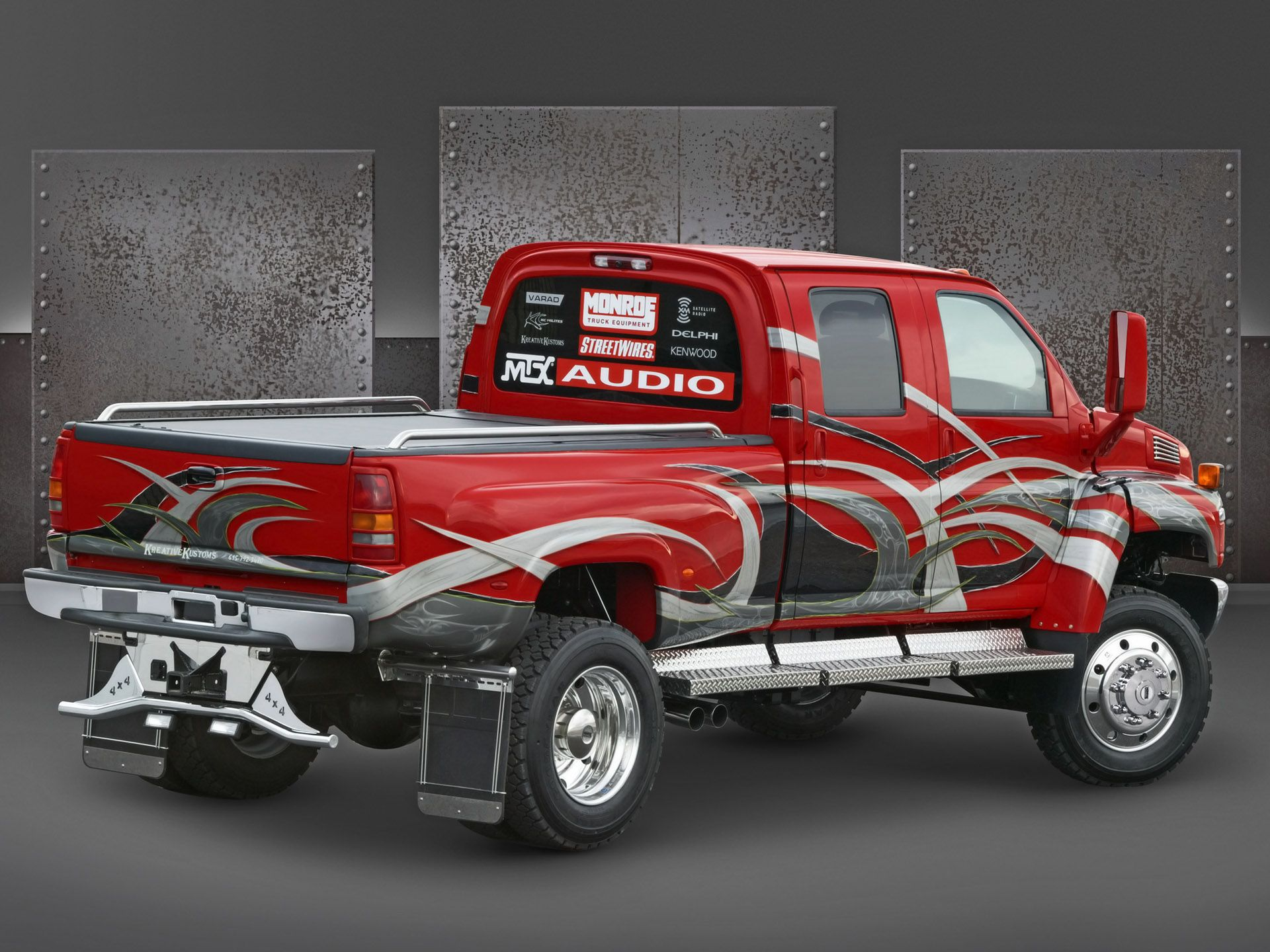 2005 chevrolet c4500 medium duty truck at sema rear angle trucks Suburban Ford 2005 chevrolet c4500 medium duty truck at sema rear angle