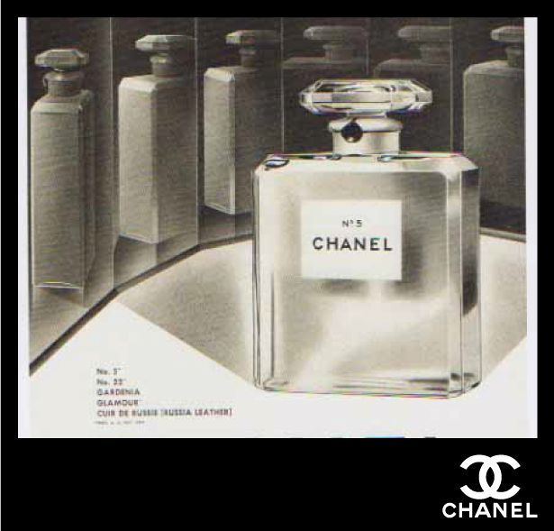 Chanel N°5 Aroma/Empaque inmortal.