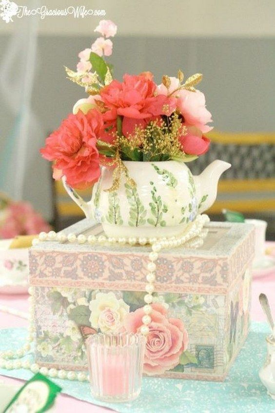 a68e7754298 Tea Party Bridal Shower Ideas for an elegant and beautiful tea party themed  bridal shower