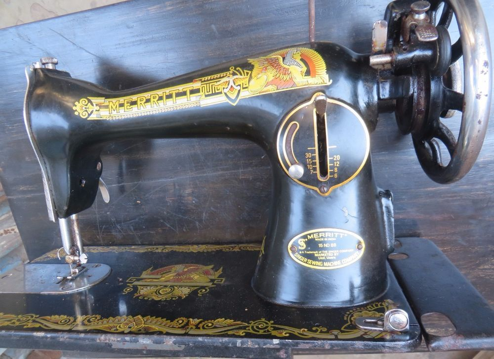 MERRITT A Prod Of SINGER SEWING MACHINE COMPANY Made In India Awesome Www Singer Sewing Machine Company