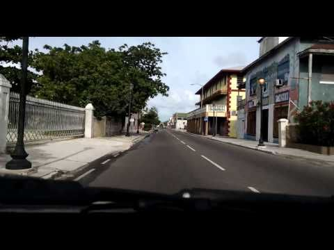 Tour 242 The Real Bahamas Pt 9 West Bay Street Downtown Nassau East Bay Street West Bay Bahamas Nassau