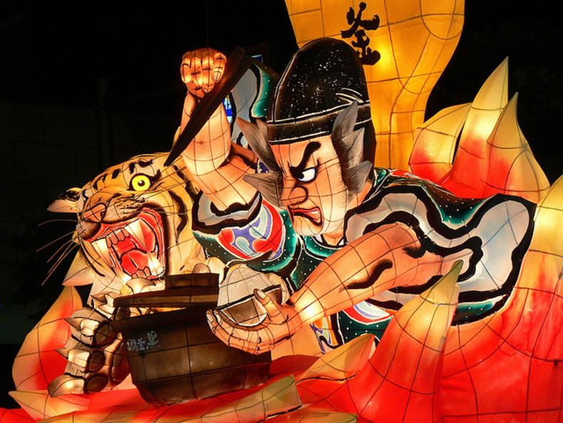 The Aomori Nebuta Festival is one of Japan's most colorful festivals but it has a dark and strange history.