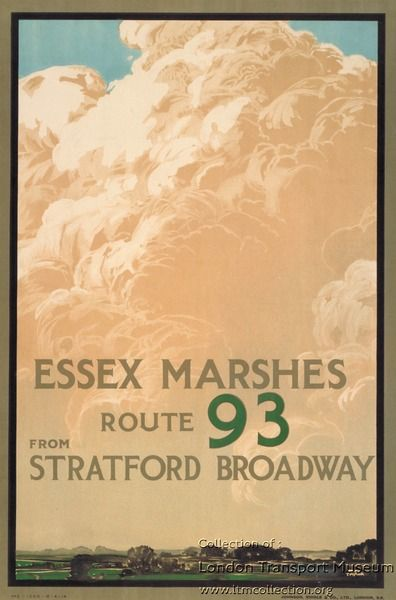TFL Essex Marshes Poster