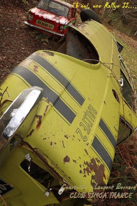 Simca 1000 Rallye 2 En Mauvaise Posture Automobiel Auto S En Motoren Auto S