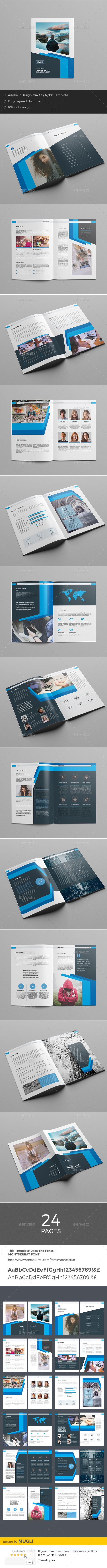 Corporate Brochure — InDesign INDD #modern #letter • Download ➝ https://graphicriver.net/item/corporate-brochure/18876400?ref=pxcr