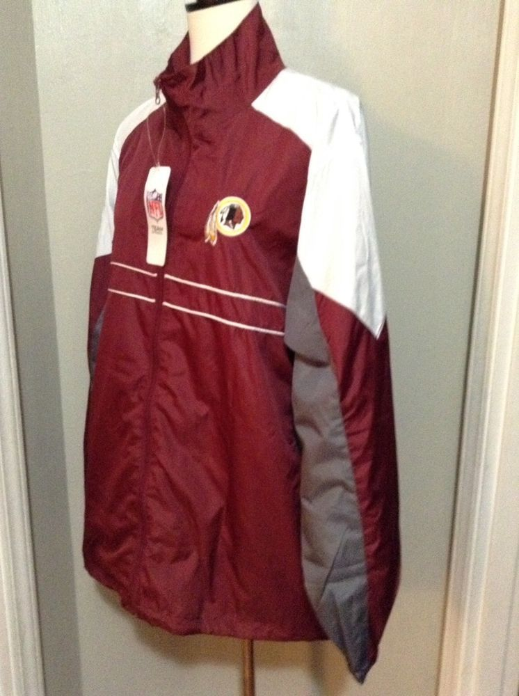 brand new b4dea d963c Sports Illustrated Jacket Wind breaker NFL Washington ...